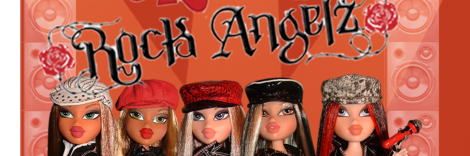 Banner Bratz Rock Angelz