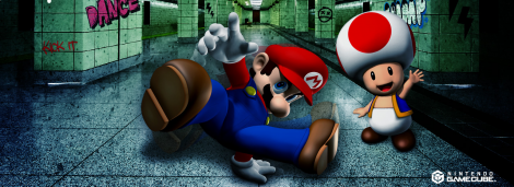 Banner Dancing Stage Mario Mix