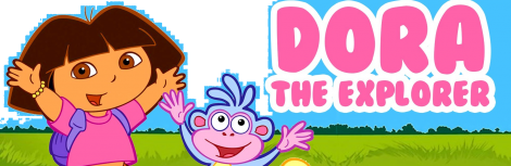 Banner Dora the Explorer Journey to the Purple Planet