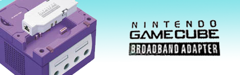 Banner GameCube Broadband Adapter