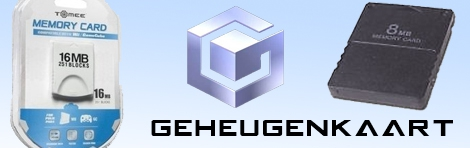 Banner GameCube Geheugenkaart Third Party