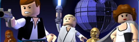 Banner LEGO Star Wars II The Original Trilogy