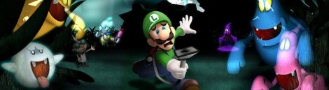 Banner Luigis Mansion