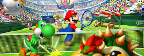 Banner Mario Power Tennis
