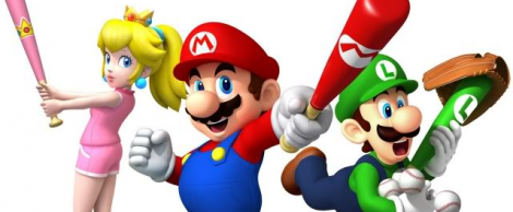 Banner Mario Superstar Baseball