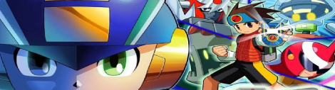 Banner Mega Man Network Transmission