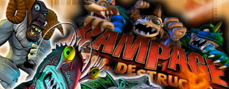Banner Rampage Total Destruction