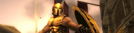 Banner Spartan Total Warrior