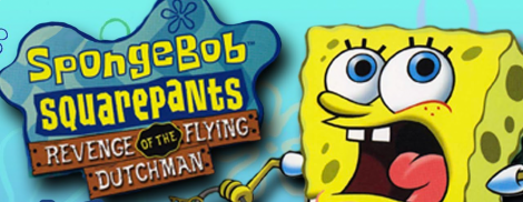 Banner SpongeBob SquarePants Revenge of the Flying Dutchman