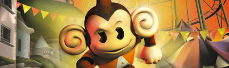 Banner Super Monkey Ball Adventure