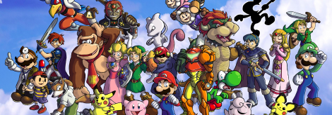 Banner Super Smash Bros Melee