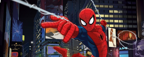 Banner Ultimate Spider Man