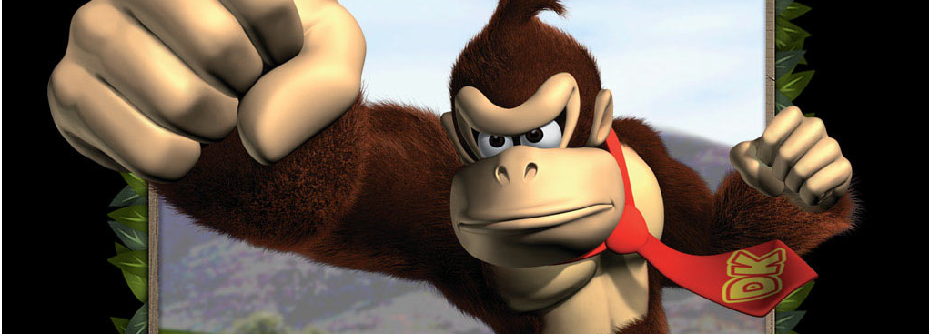 Banner Donkey Kong Jungle Beat