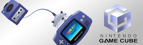 Banner GameCube Game Boy Advance Link Cable