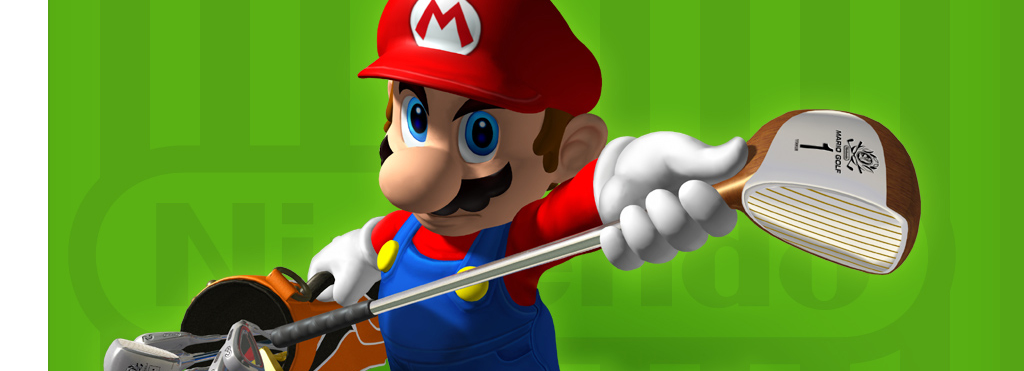 Banner Mario Golf Toadstool Tour