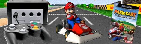 Banner Mario Kart Double Dash Limited Edition Pak