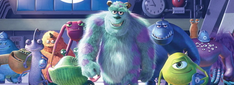 Banner Monsters Inc Scream Arena