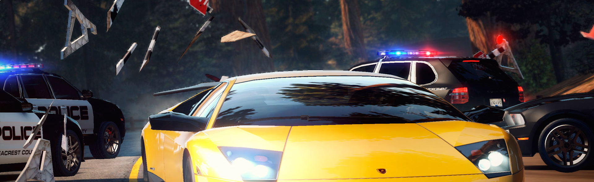 Banner Need for Speed Hot Pursuit 2