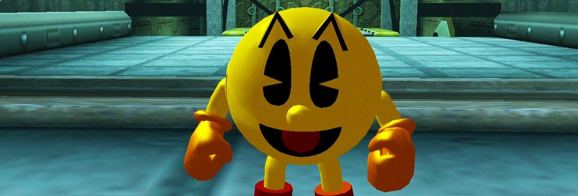 Banner Pac-Man World 3