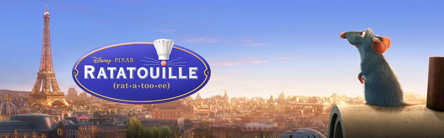 Banner Ratatouille Franse Uitgave