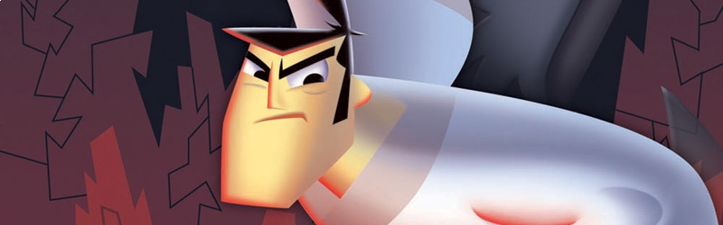Banner Samurai Jack The Shadow of Aku