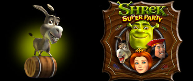 Banner Shrek Super Party