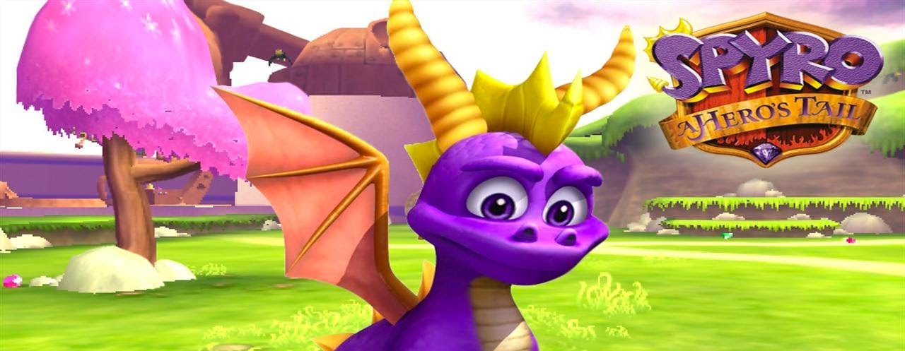 Banner Spyro A Heros Tail