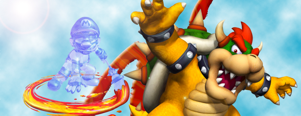 Banner Super Mario Sunshine