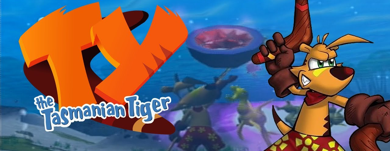 Banner TY the Tasmanian Tiger