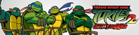 Banner Teenage Mutant Ninja Turtles 2 Battle Nexus