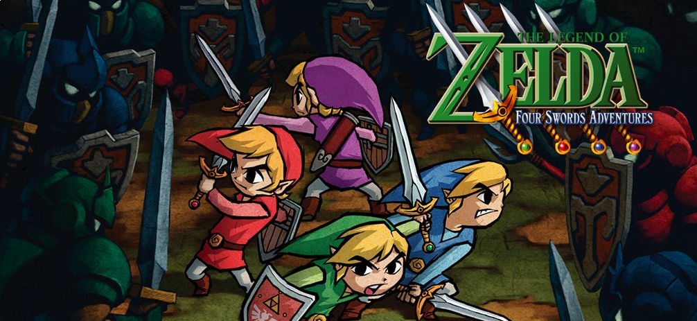 Banner The Legend of Zelda Four Swords Adventures