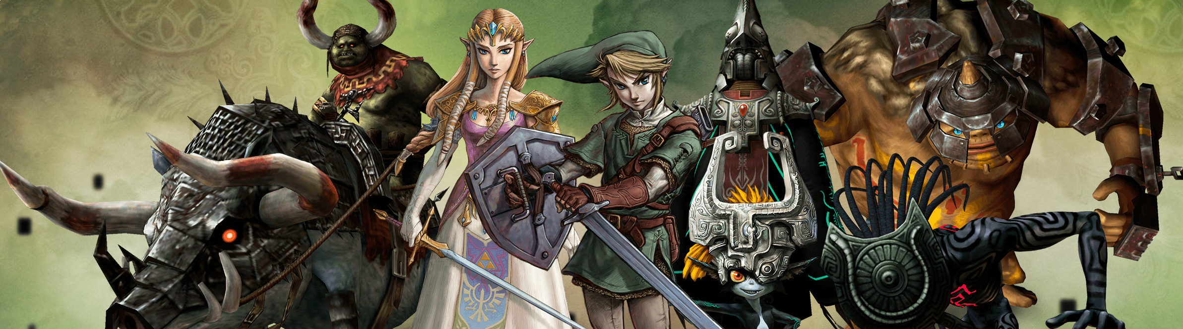 Banner The Legend of Zelda Twilight Princess