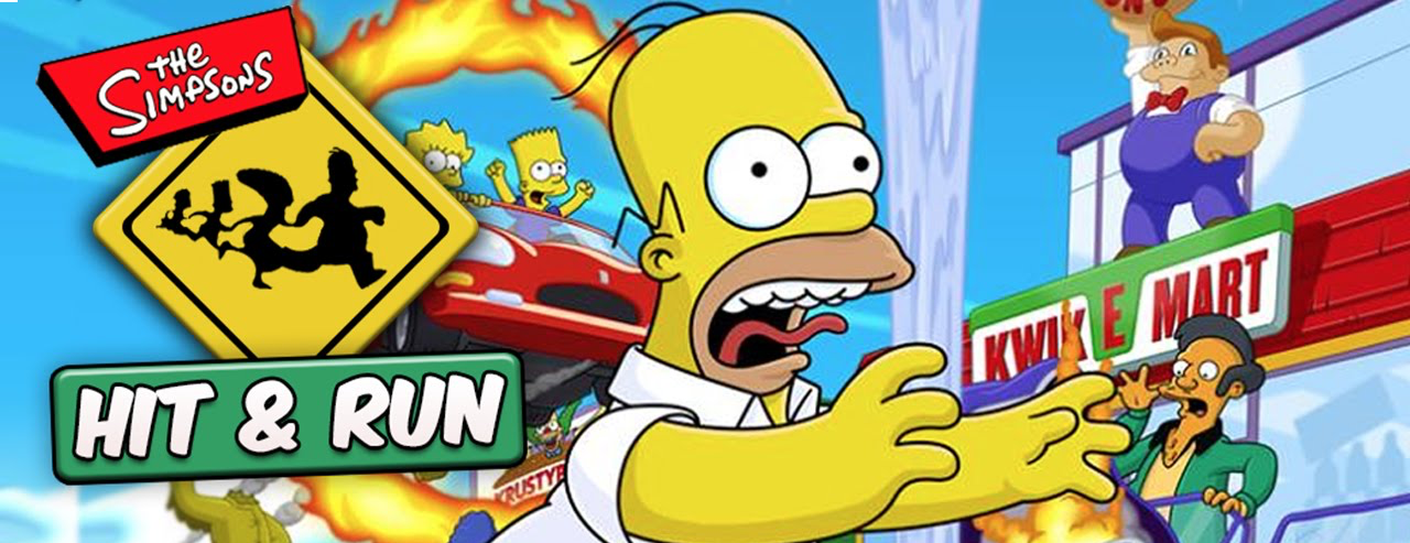 Banner The Simpsons Hit and Run