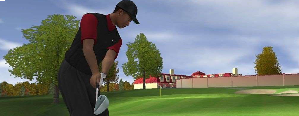 Banner Tiger Woods PGA Tour 2005