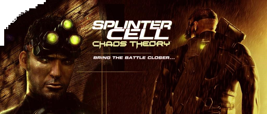 Banner Tom Clancys Splinter Cell Chaos Theory