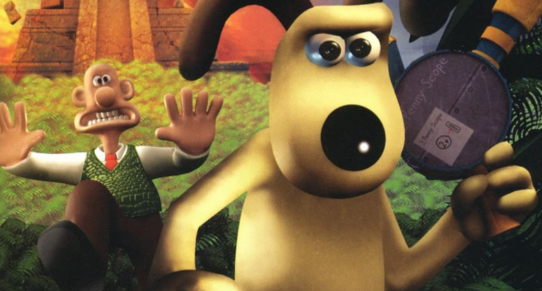 Banner Wallace en Gromit in Project Zoo