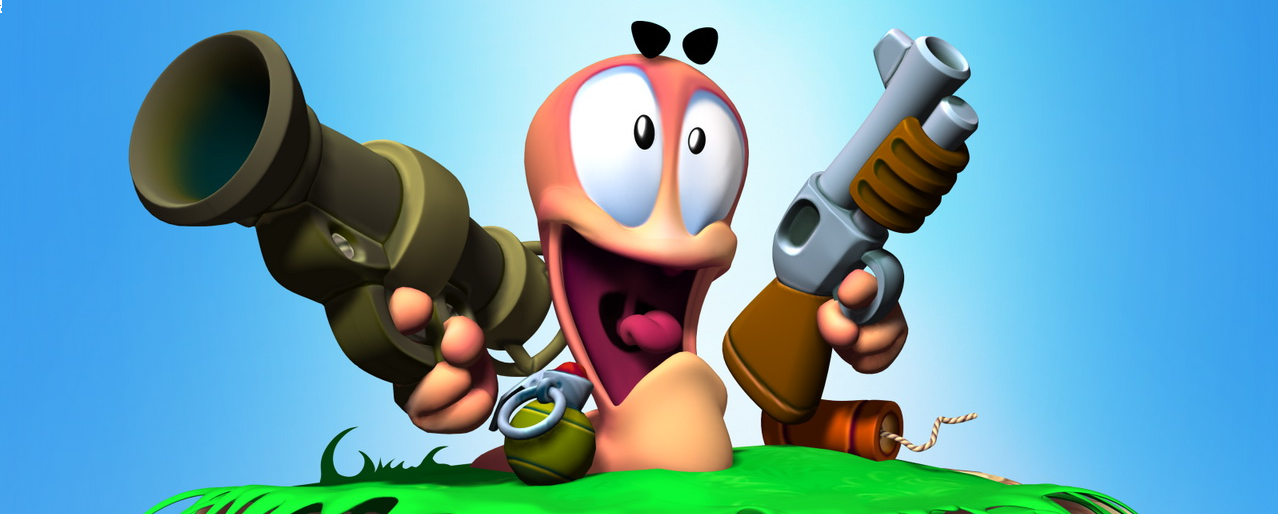 Banner Worms 3D