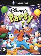 Disneys Party Losse Disc voor Nintendo GameCube