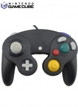 GameCube Controller Second Party Zwart voor Nintendo GameCube