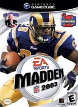 Madden 2003 voor Nintendo GameCube