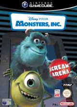 Monsters Inc Scream Arena Losse Disc voor Nintendo Wii