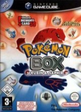 Pokemon Box Ruby and Sapphire voor Nintendo GameCube