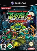 Teenage Mutant Ninja Turtles 2 Battle Nexus voor Nintendo GameCube