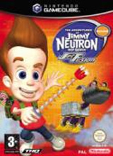 The Adventures Of Jimmy Neutron Boy Genius Jet Fusion voor Nintendo GameCube