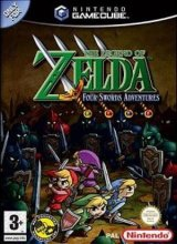 /The Legend of Zelda: Four Swords Adventures Zonder Handleiding voor Nintendo GameCube