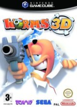 Worms 3D Losse Disc voor Nintendo GameCube