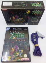 The Legend of Zelda: Four Swords Adventures en Game Boy Advance Cable in Doos voor Nintendo GameCube