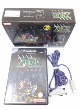 /The Legend of Zelda: Four Swords Adventures en Game Boy Advance Cable in Doos voor Nintendo GameCube