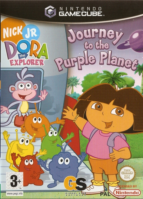 Boxshot Dora the Explorer: Journey to the Purple Planet