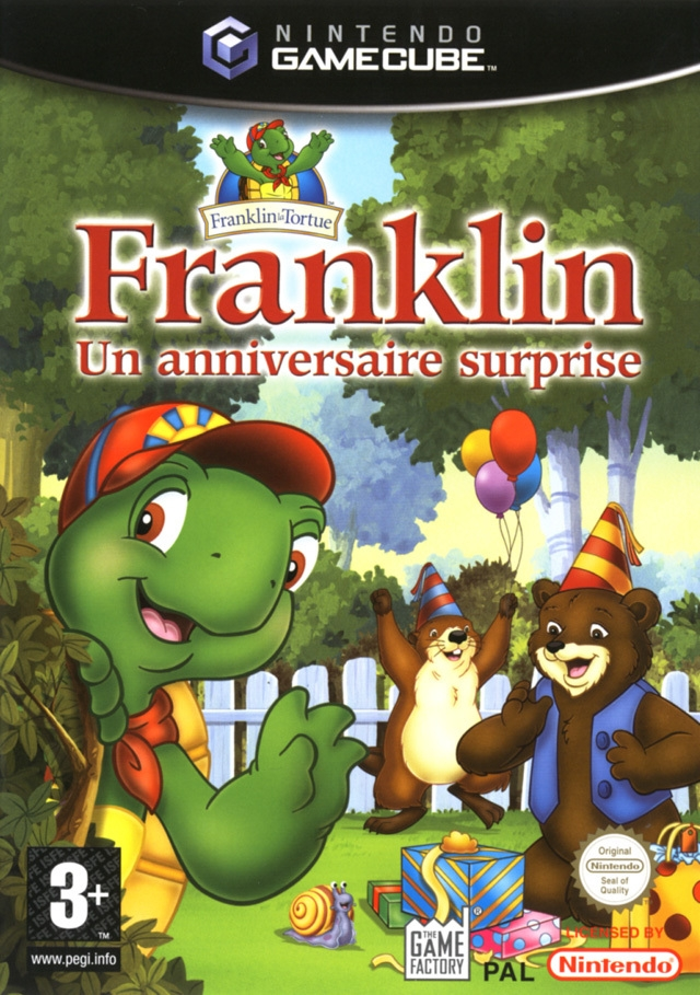 Boxshot Franklin: Un Anniversaire Surprise